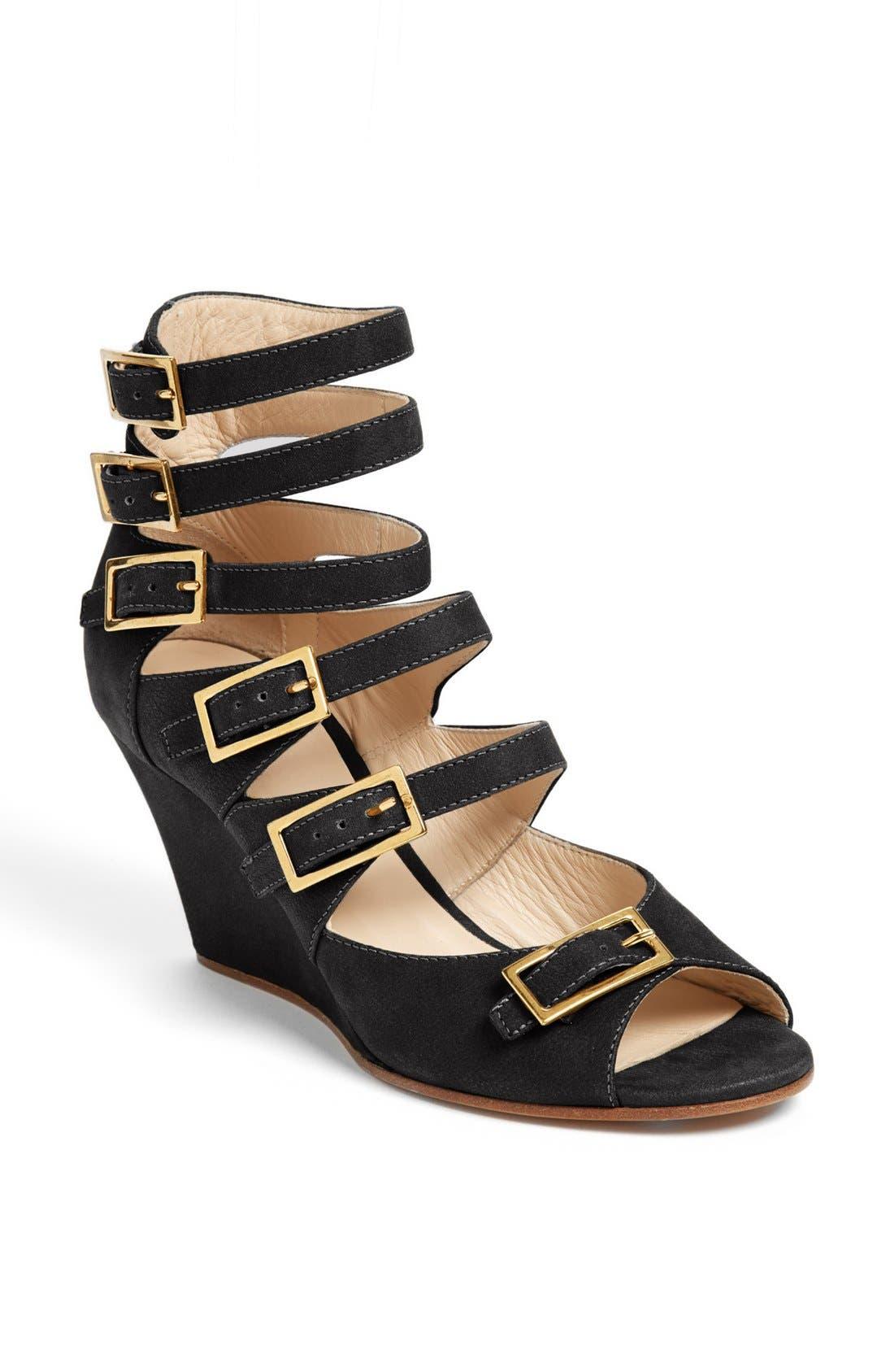 Alternate Image 1 Selected - Chloé 'Arce' Multi Strap Wedge Sandal