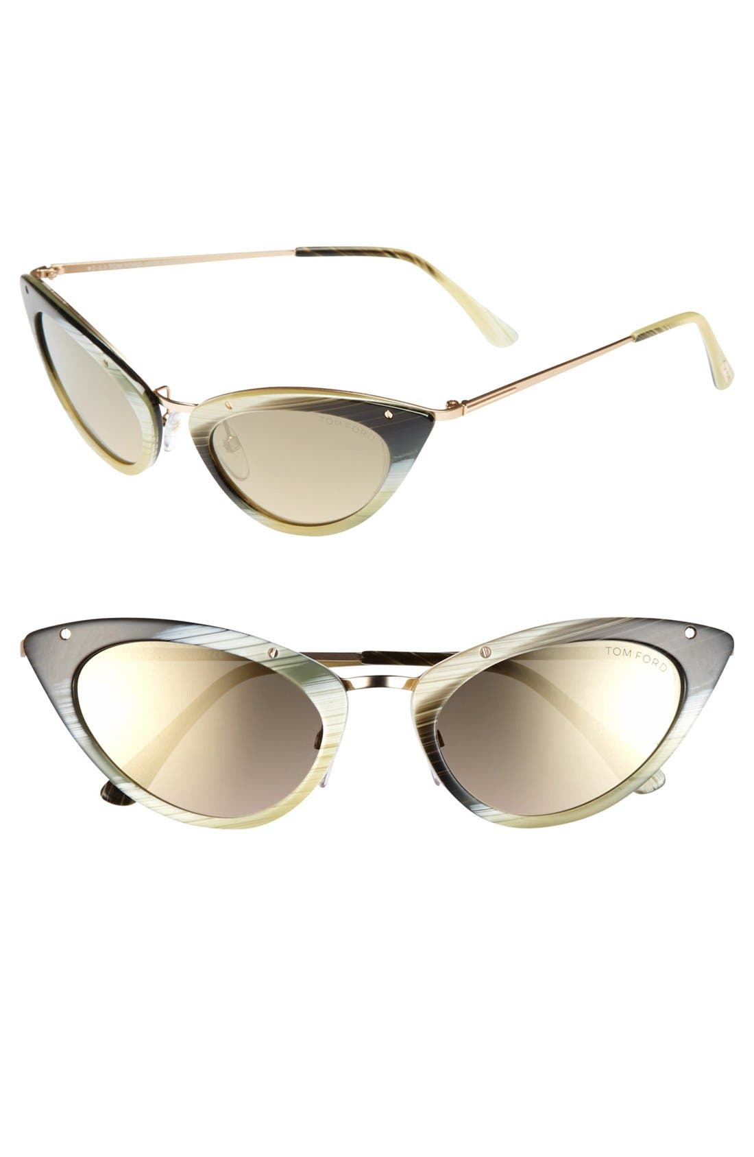 Alternate Image 1 Selected - Tom Ford 'Grace' 52mm Sunglasses