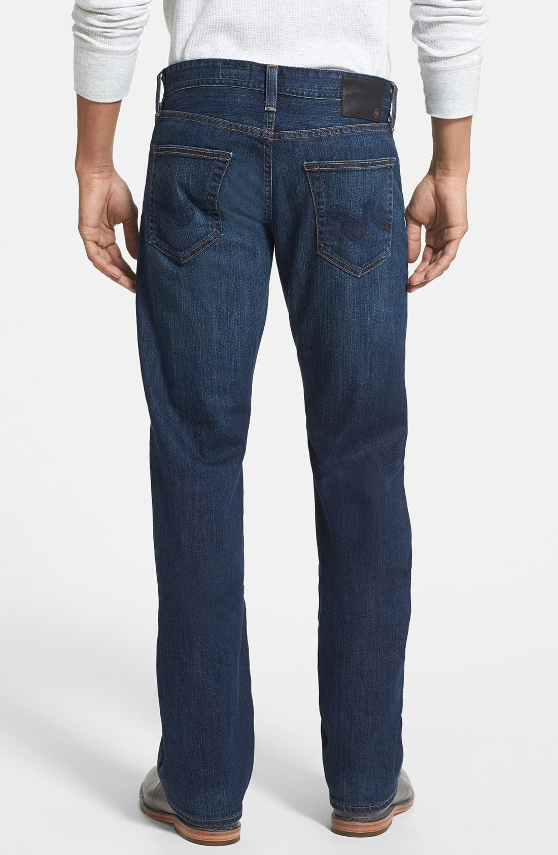 Alternate Image 2  - AG 'Protégé' Straight Leg Jeans (4 Year Brisk)
