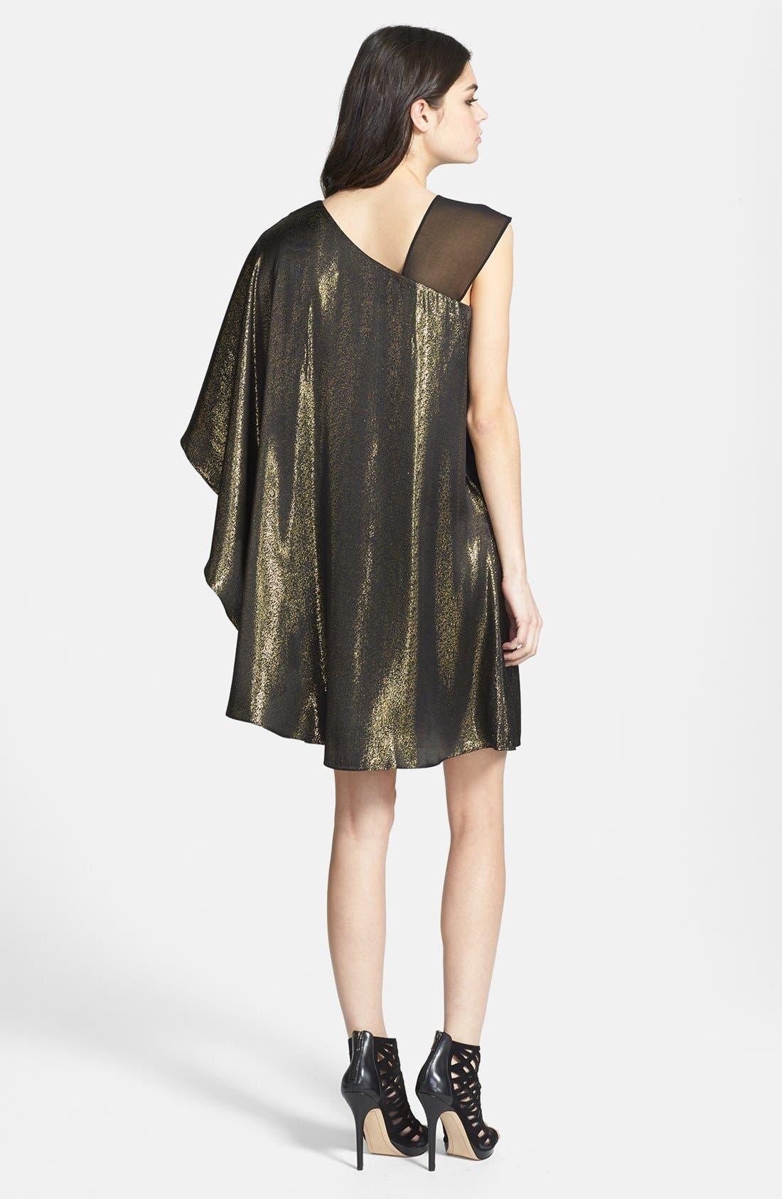 Alternate Image 2  - ERIN erin fetherston 'Lea' Metallic Dress