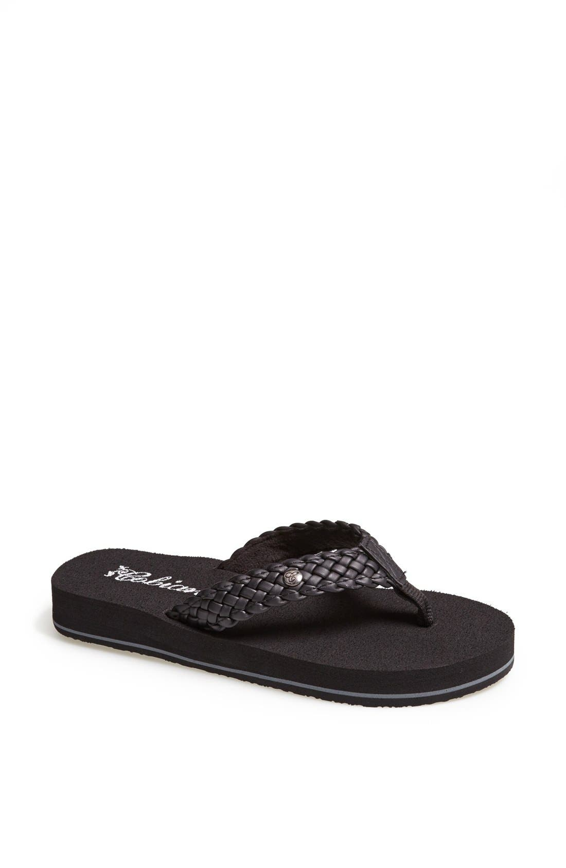 Alternate Image 1 Selected - Cobian 'Braided Bounce' Flip Flop
