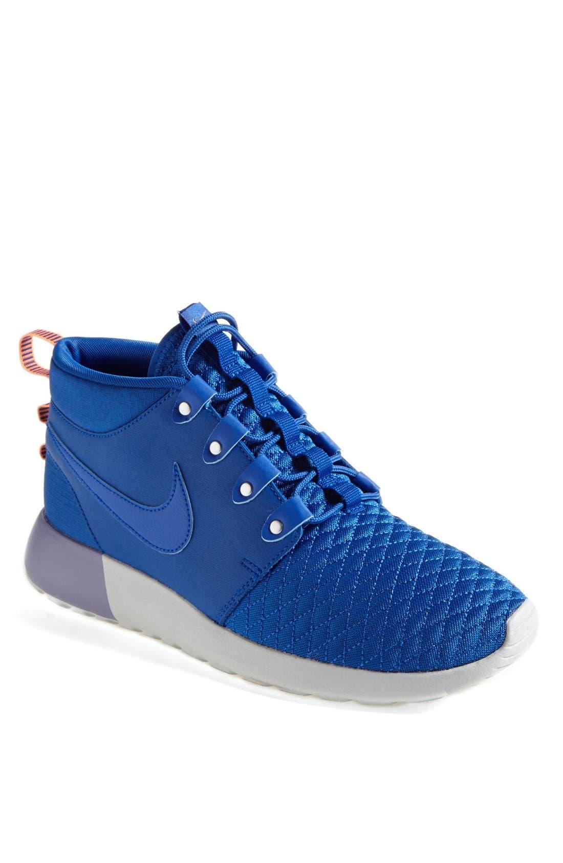 Alternate Image 1 Selected - Nike 'Roshe Run' Sneaker Boot (Men)