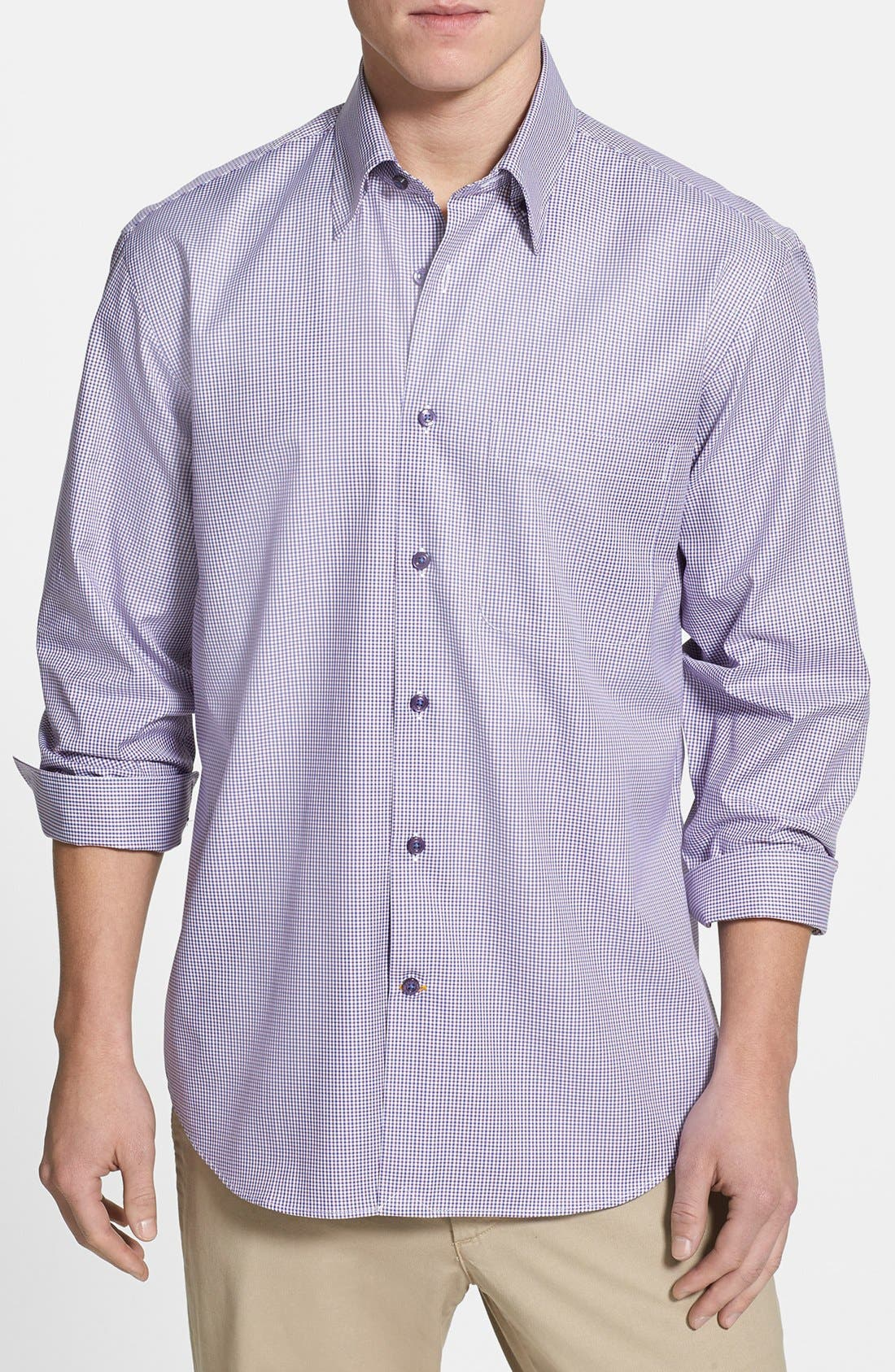 Alternate Image 1 Selected - Robert Talbott Classic Fit Sport Shirt