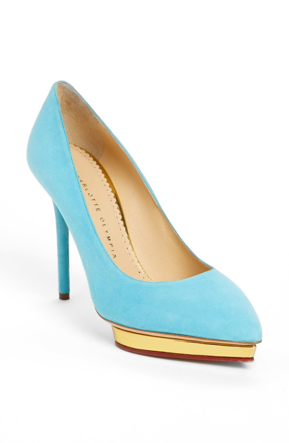 Alternate Image 1 Selected - Charlotte Olympia 'Debbie' Platform Pump
