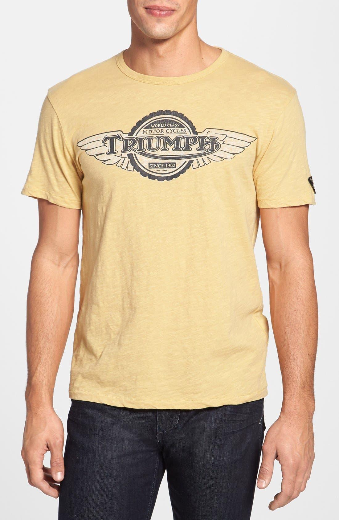 Main Image - Lucky Brand 'Triumph™' Graphic Crewneck T-Shirt