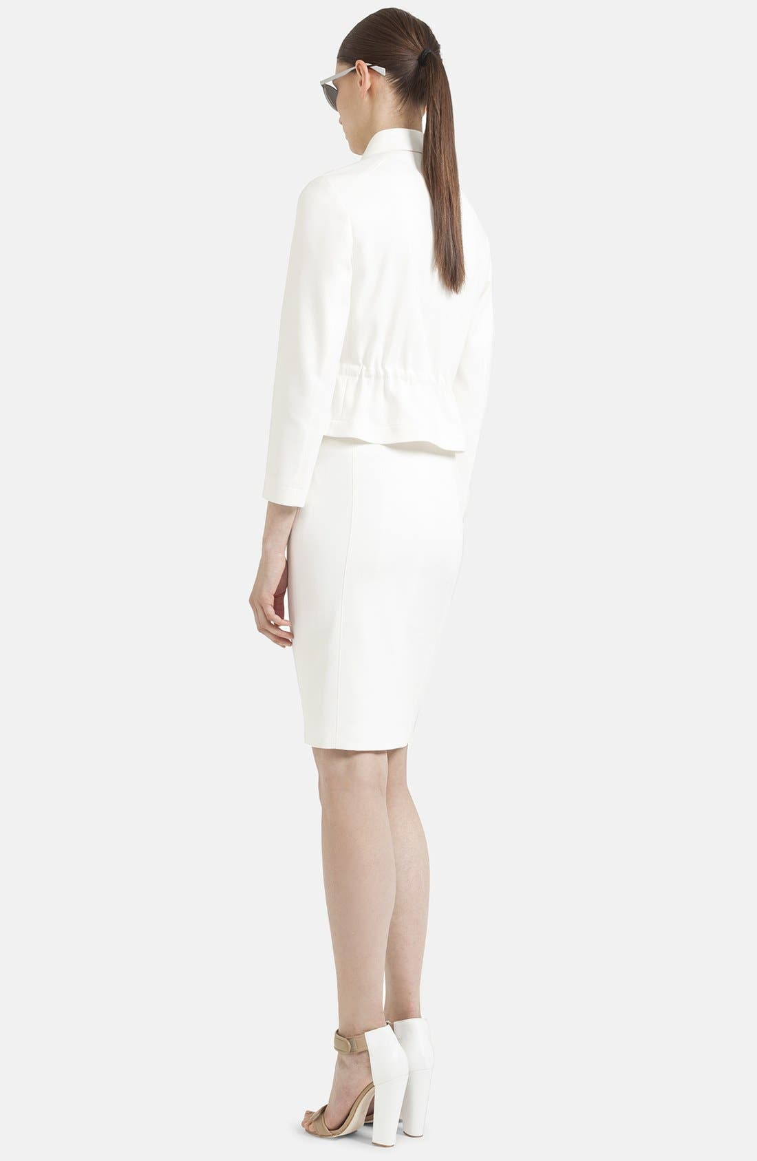 Alternate Image 2  - Akris punto Front Zip Techno Skirt