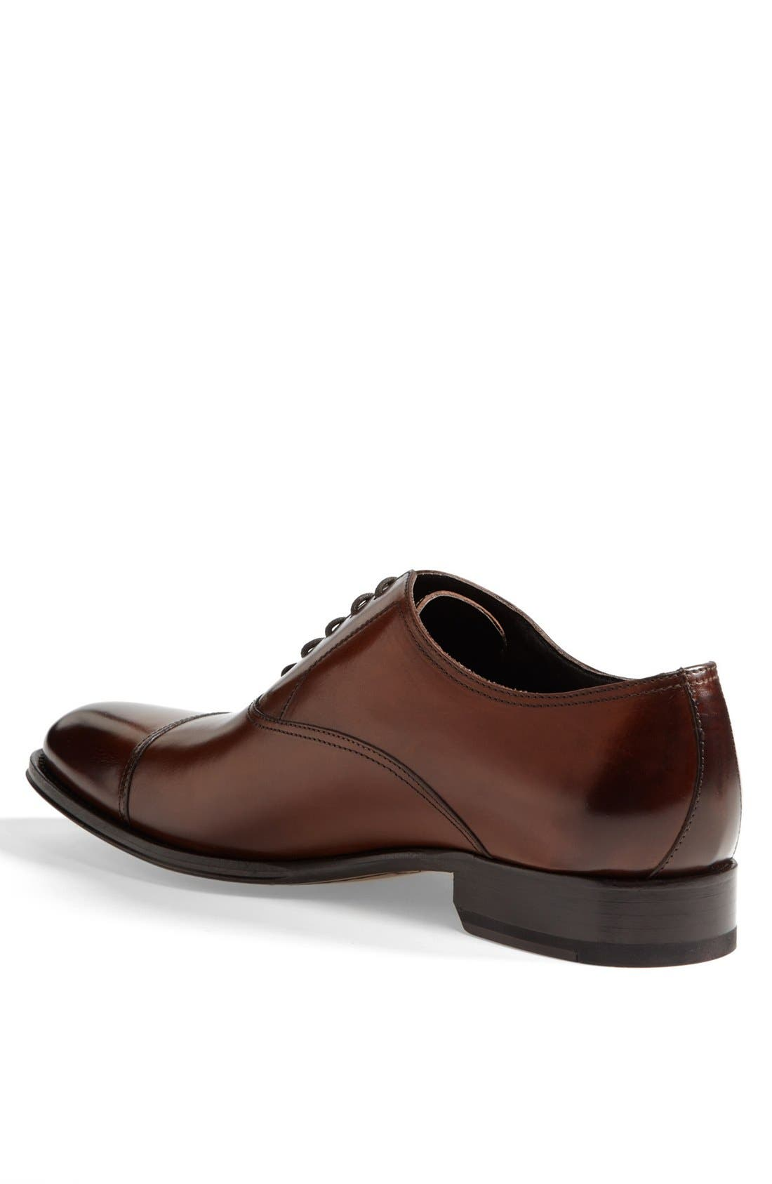Alternate Image 2  - To Boot New York Brandon Cap Toe Oxford (Nordstrom Exclusive) (Men)