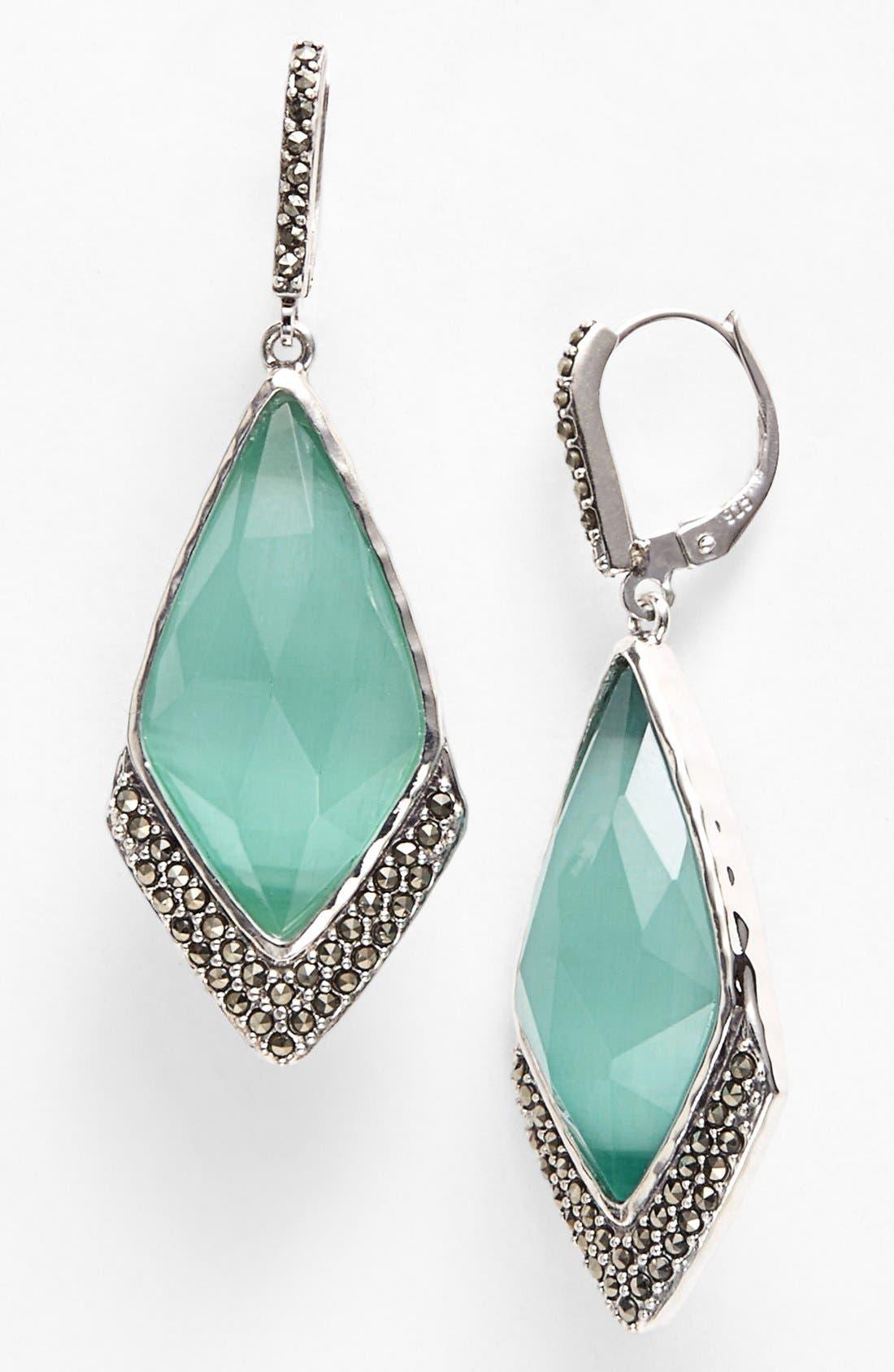 Main Image - Judith Jack 'Mint Elegante' Large Drop Earrings