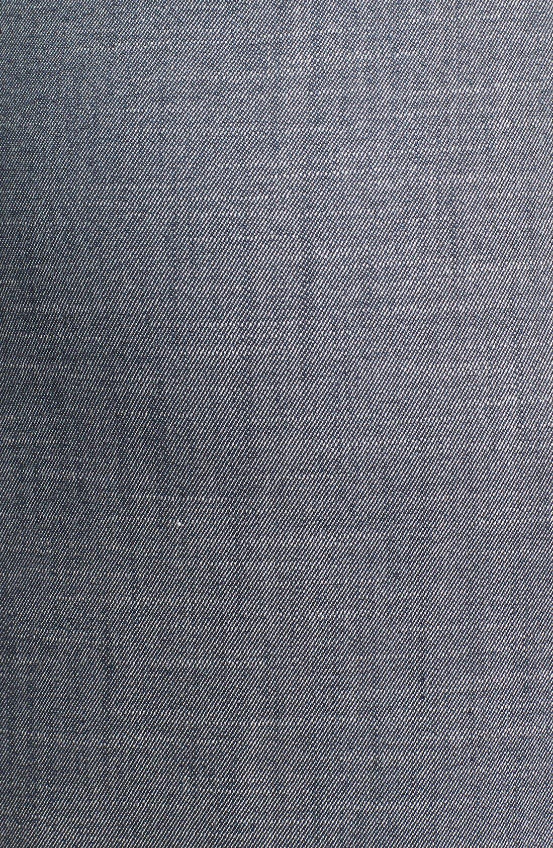 Alternate Image 3  - Halogen® Crosshatch Weave Midi Pencil Skirt