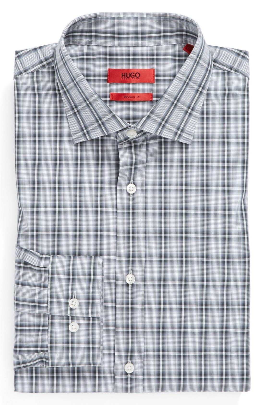 Main Image - HUGO Modern Fit Dress Shirt