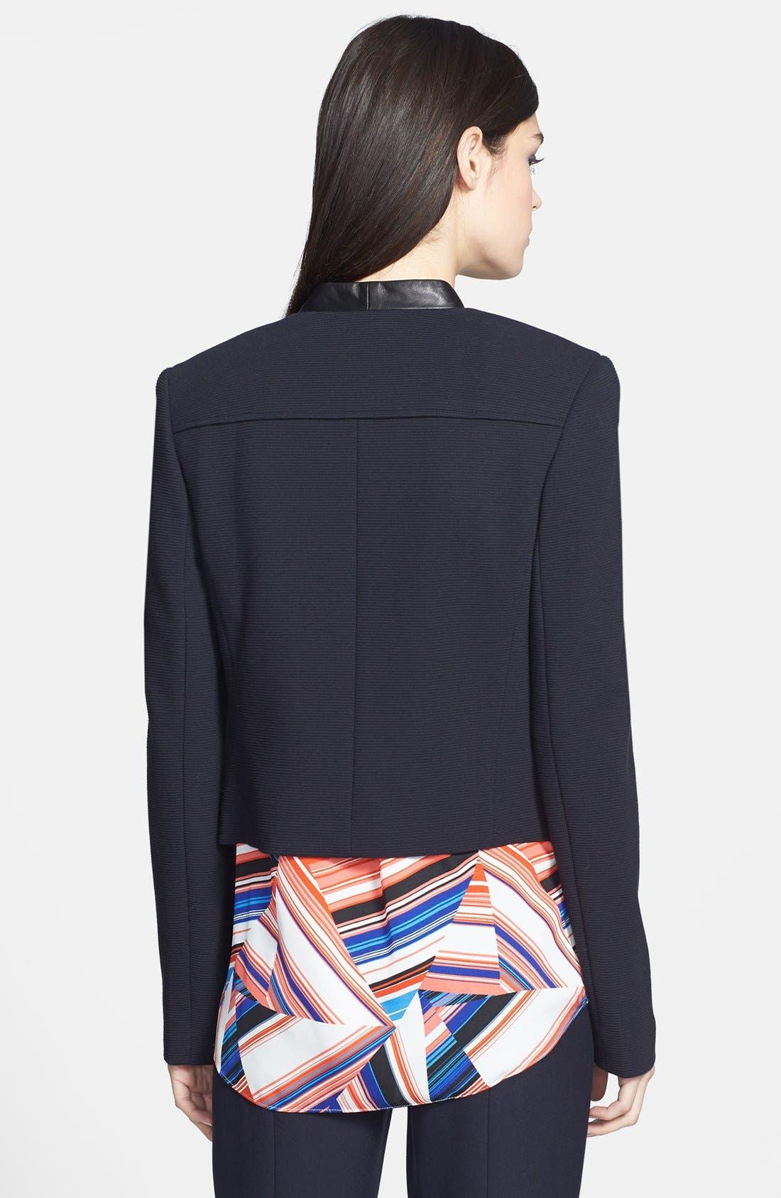 Alternate Image 2  - Classiques Entier® Ottoman Weave Short Jacket