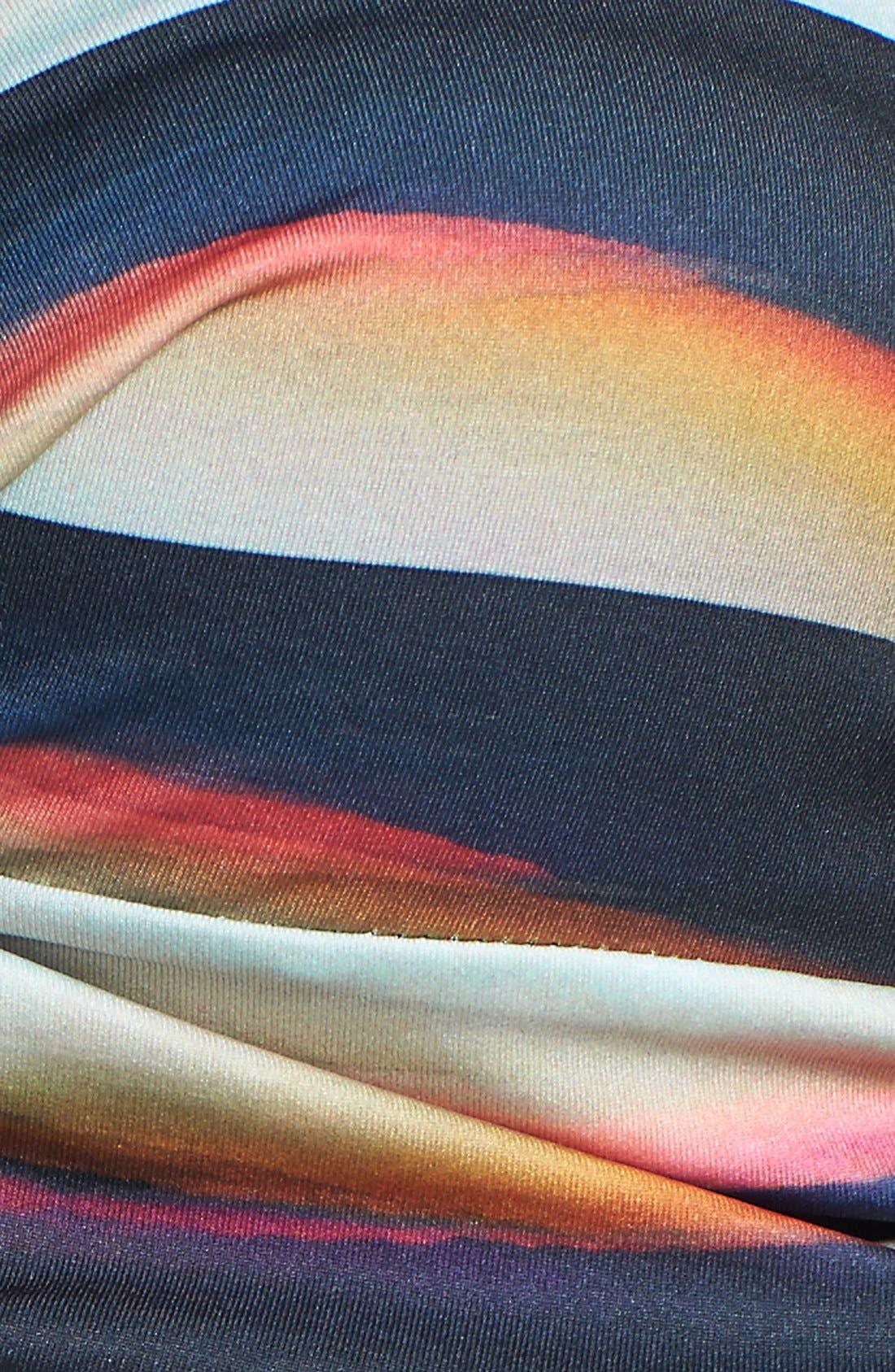 Alternate Image 5  - PilyQ 'Black Horizon Bombshell' Bandeau Bikini Top