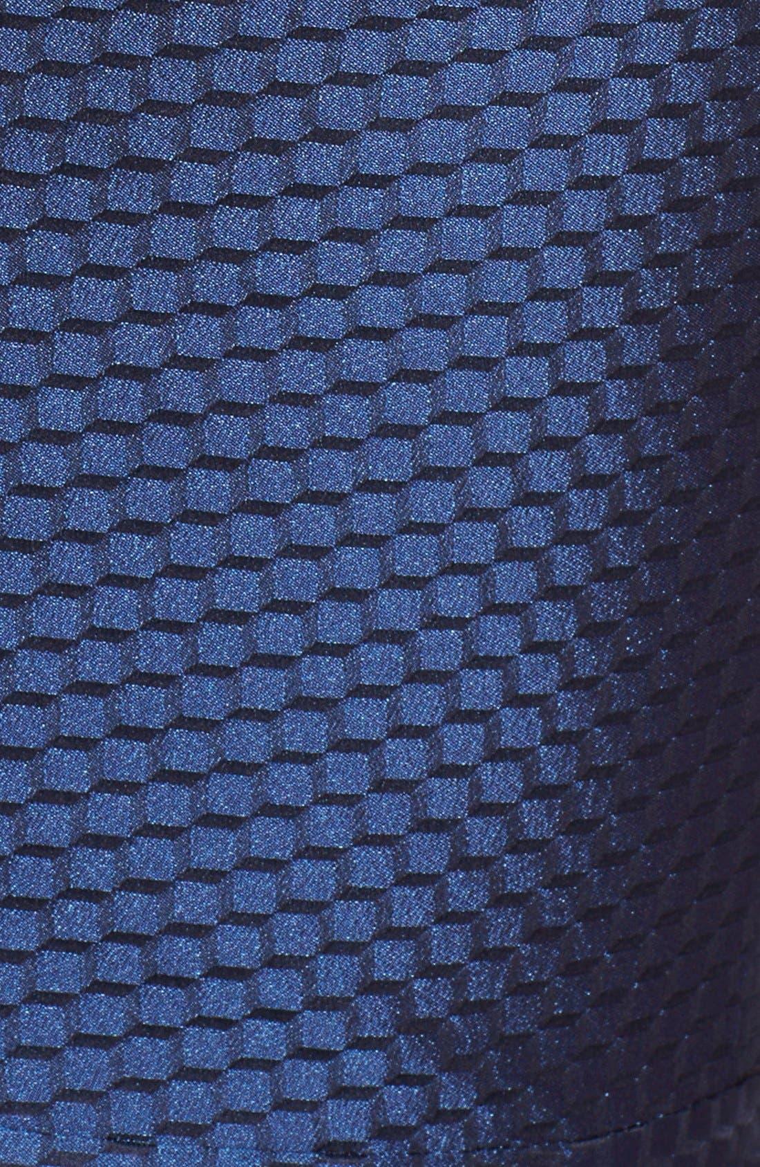 Alternate Image 3  - Armani Collezioni Honeycomb Weave Full Skirt Dress