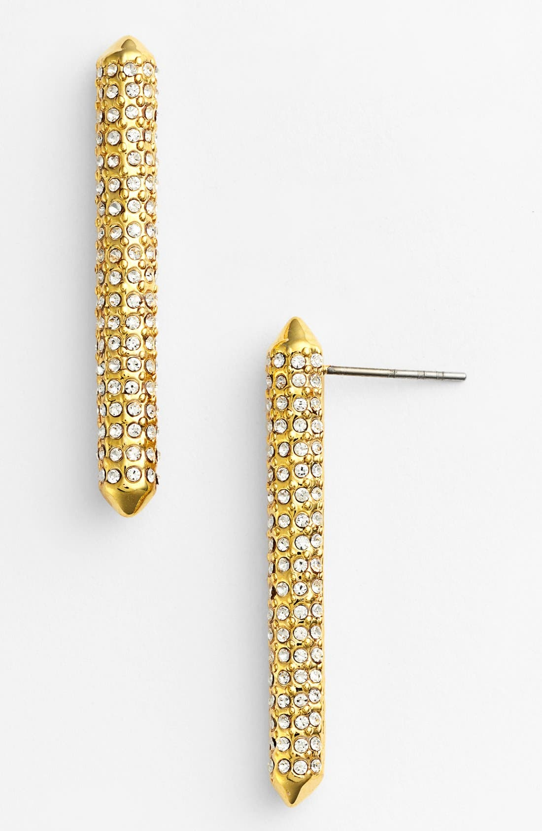 Alternate Image 1 Selected - Rebecca Minkoff Long Bar Stud Earrings