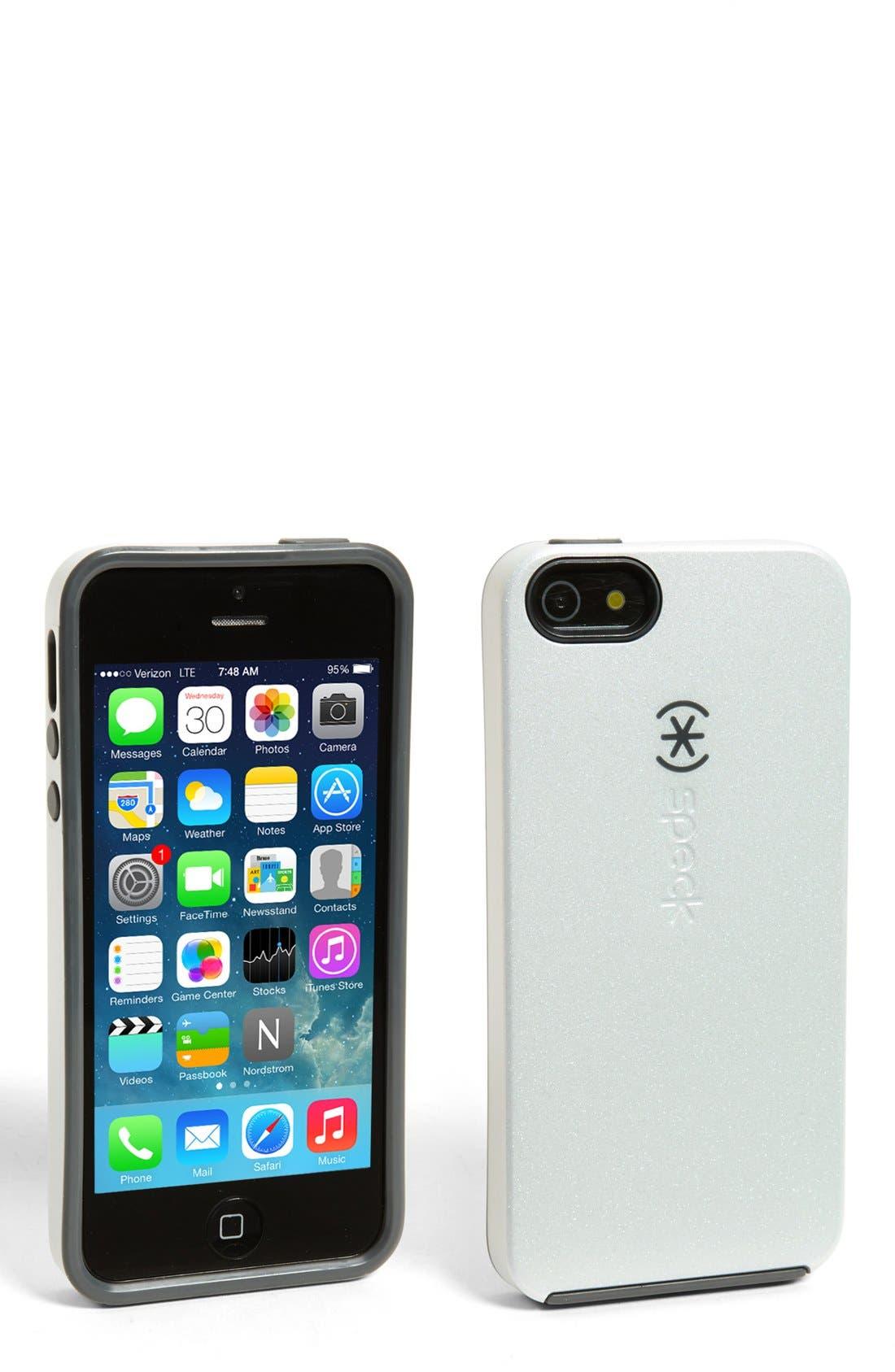Alternate Image 1 Selected - Speck 'SmartFlex™ Shine' iPhone 5 Case
