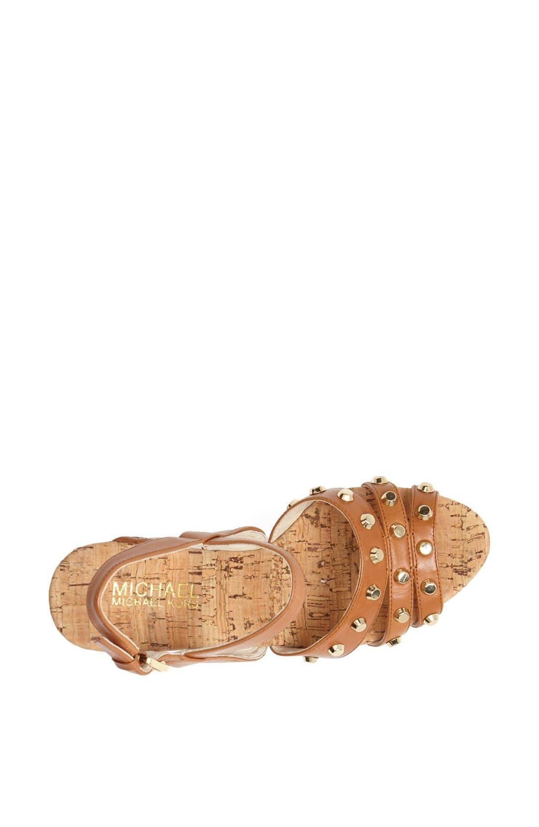 Alternate Image 3  - MICHAEL Michael Kors Wedge sandal