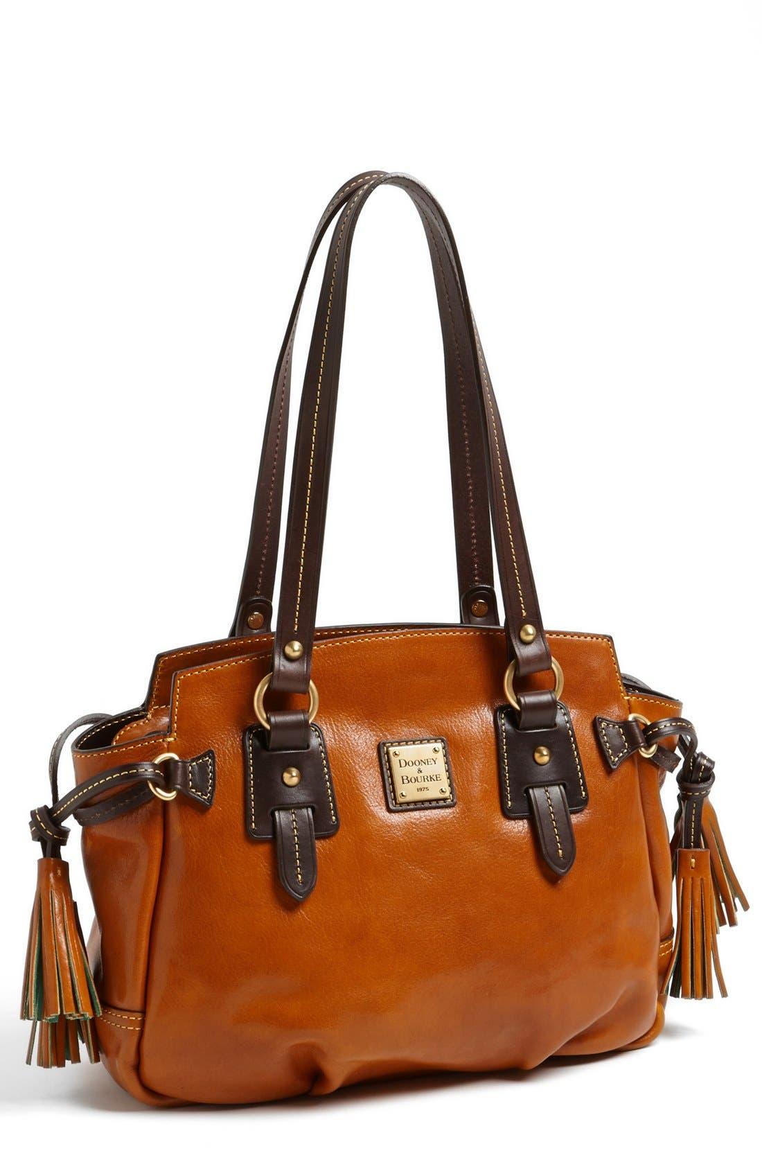 Alternate Image 1 Selected - Dooney & Bourke 'Winged - Small' Leather Handbag