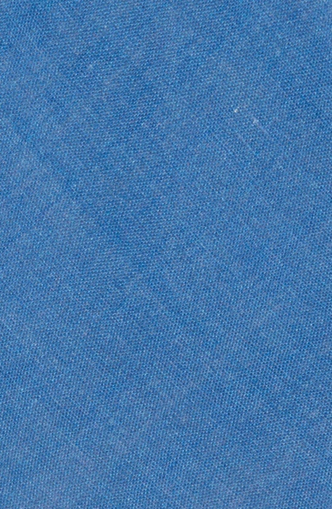 Alternate Image 2  - EDIT by The Tie Bar Solid Linen Tie (Nordstrom Exclusive)