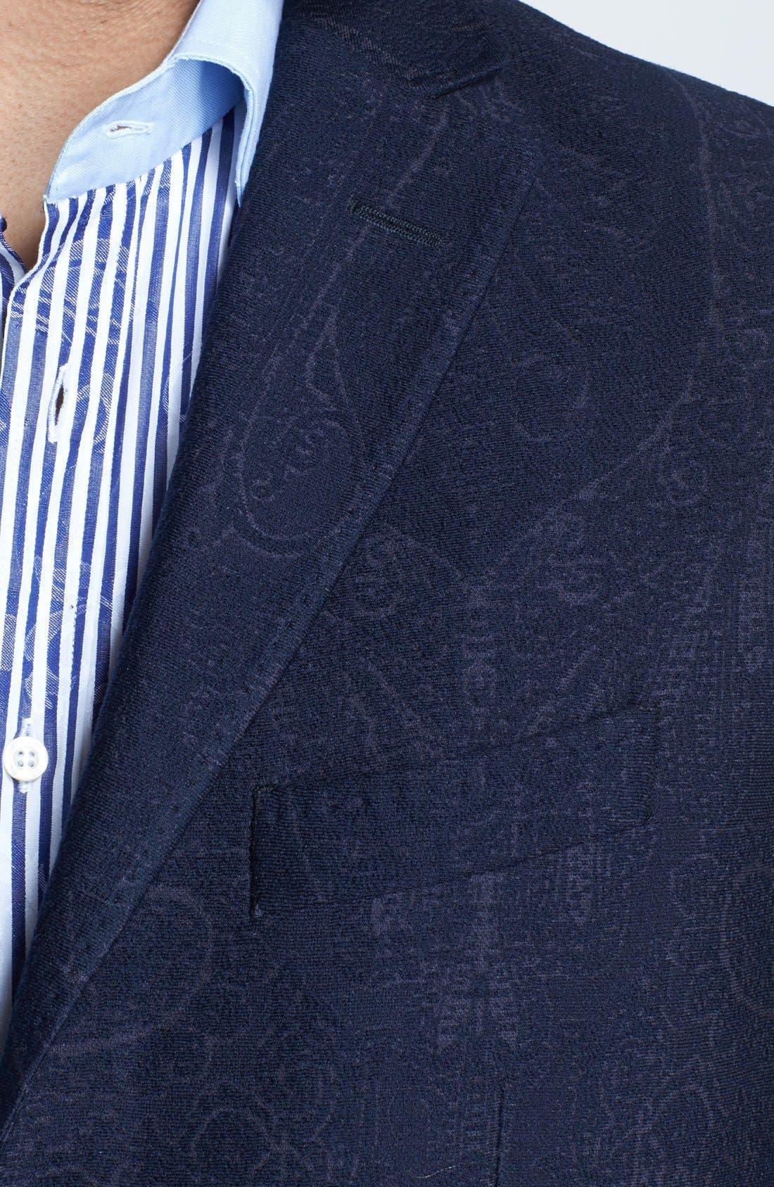 Alternate Image 3  - Etro Tonal Paisley Sportcoat