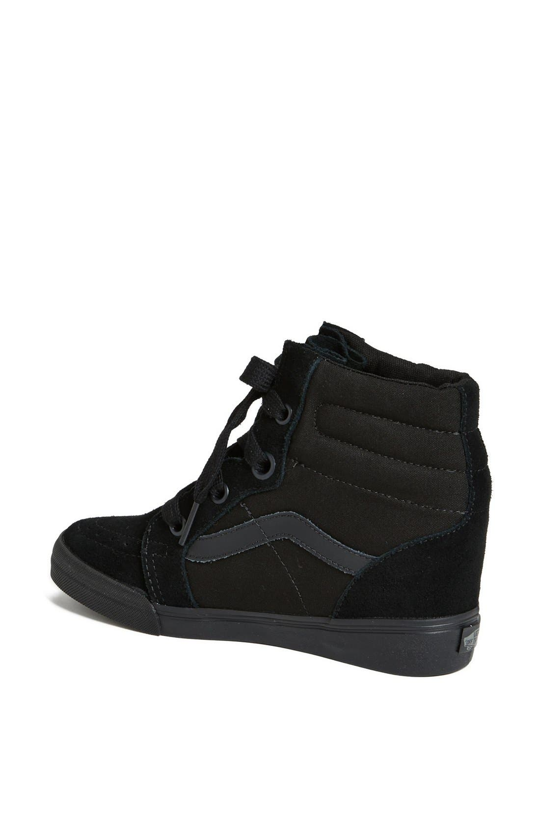 Alternate Image 2  - Vans 'Sk8 Hi' Wedge Sneaker (Women)