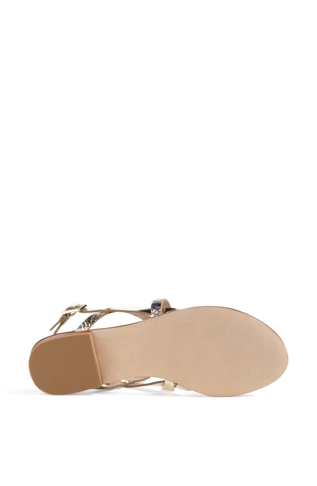 Alternate Image 4  - Steve Madden 'Kroatia' Leather Sandal