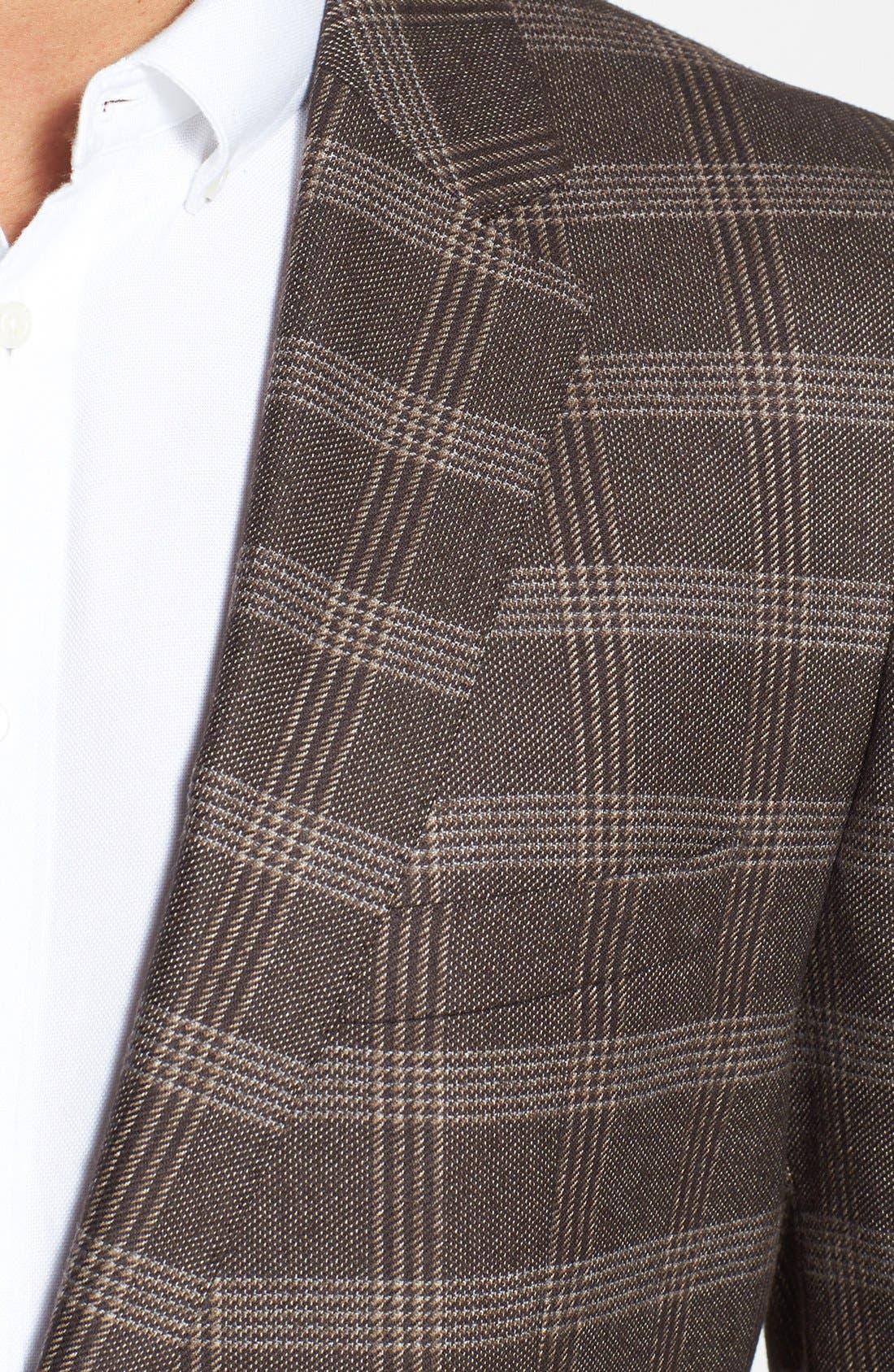Alternate Image 3  - BOSS HUGO BOSS 'The James' Trim Fit Plaid Sportcoat