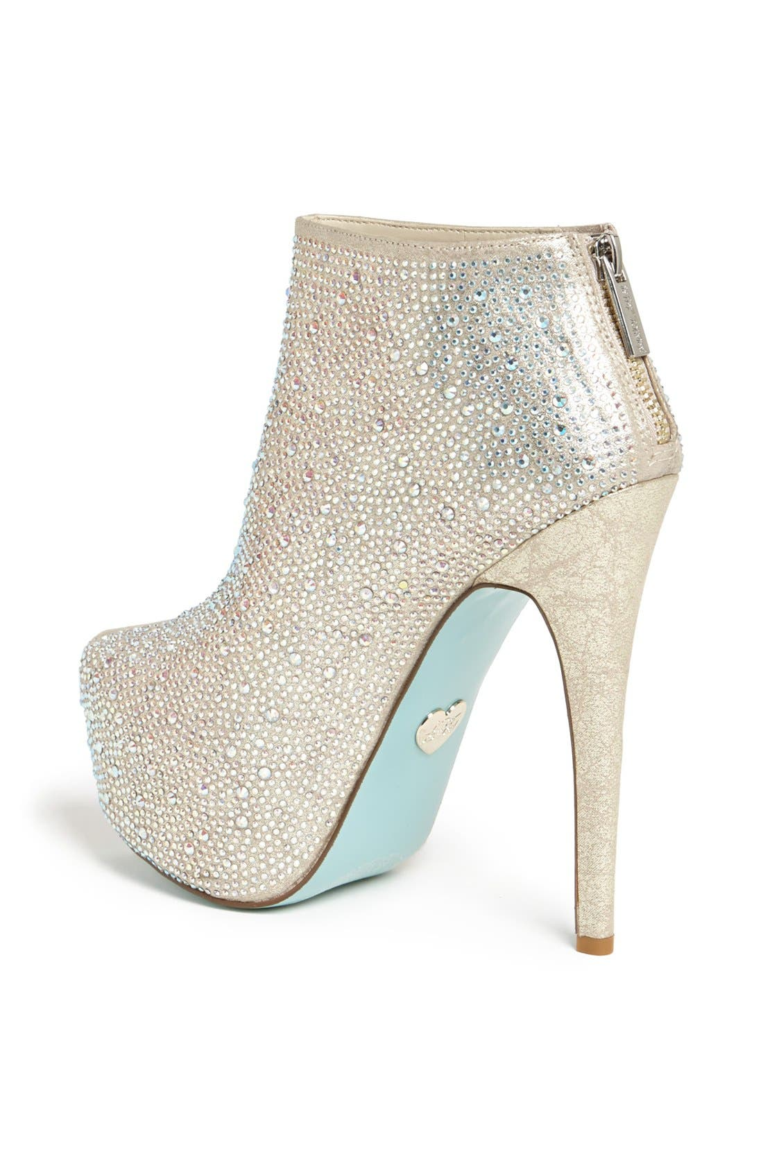 Alternate Image 2  - Blue by Betsey Johnson 'Bride' Bootie
