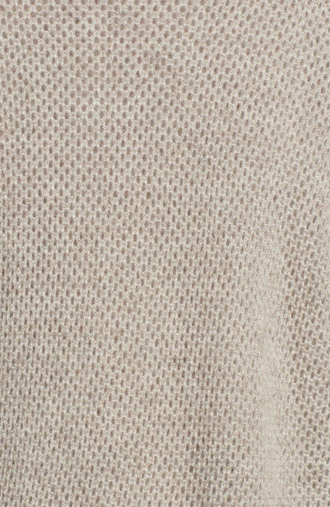 Alternate Image 3  - Halogen® Open Stitch Cashmere Sweater