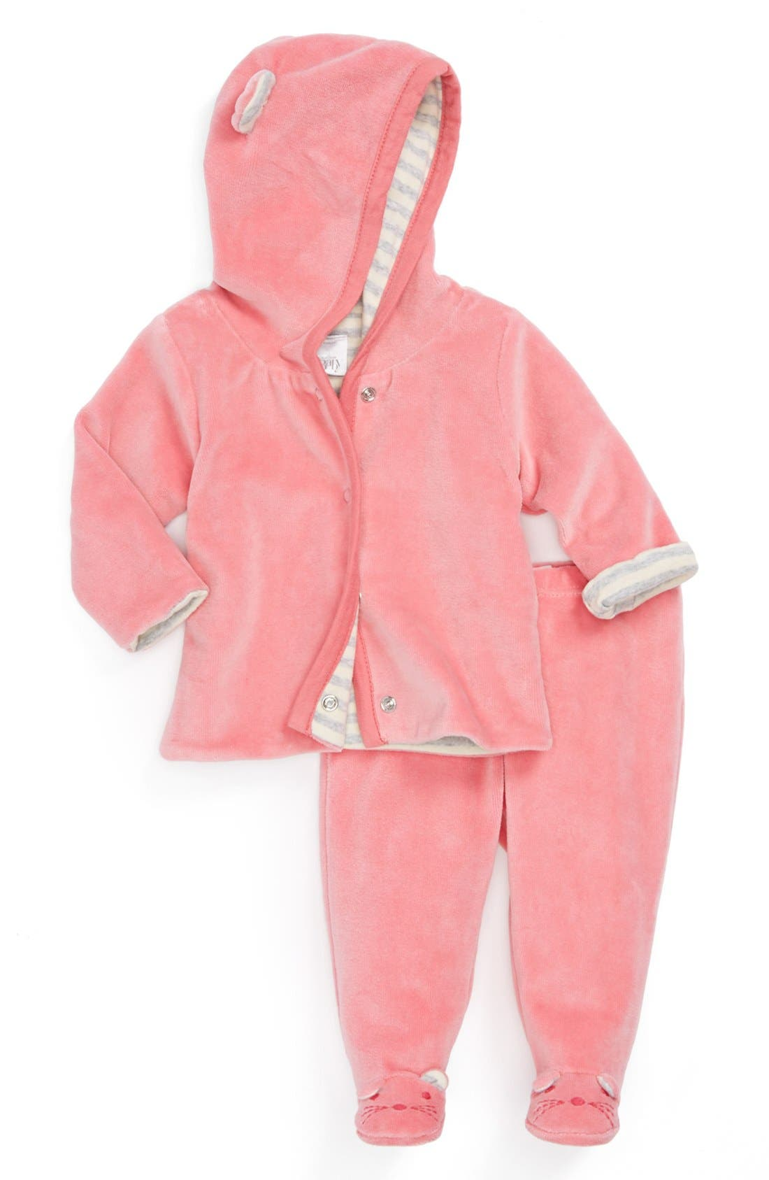 Alternate Image 1 Selected - Nordstrom Baby Layette Set (Baby Girls)