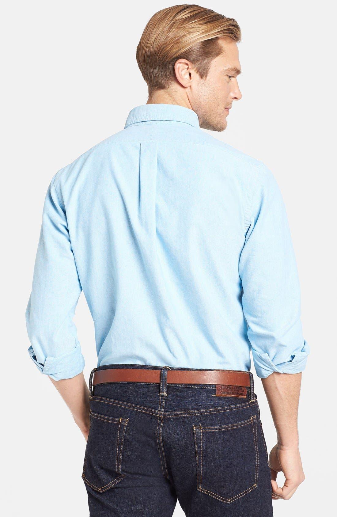 Alternate Image 2  - Polo Ralph Lauren Slim Fit Oxford Sport Shirt