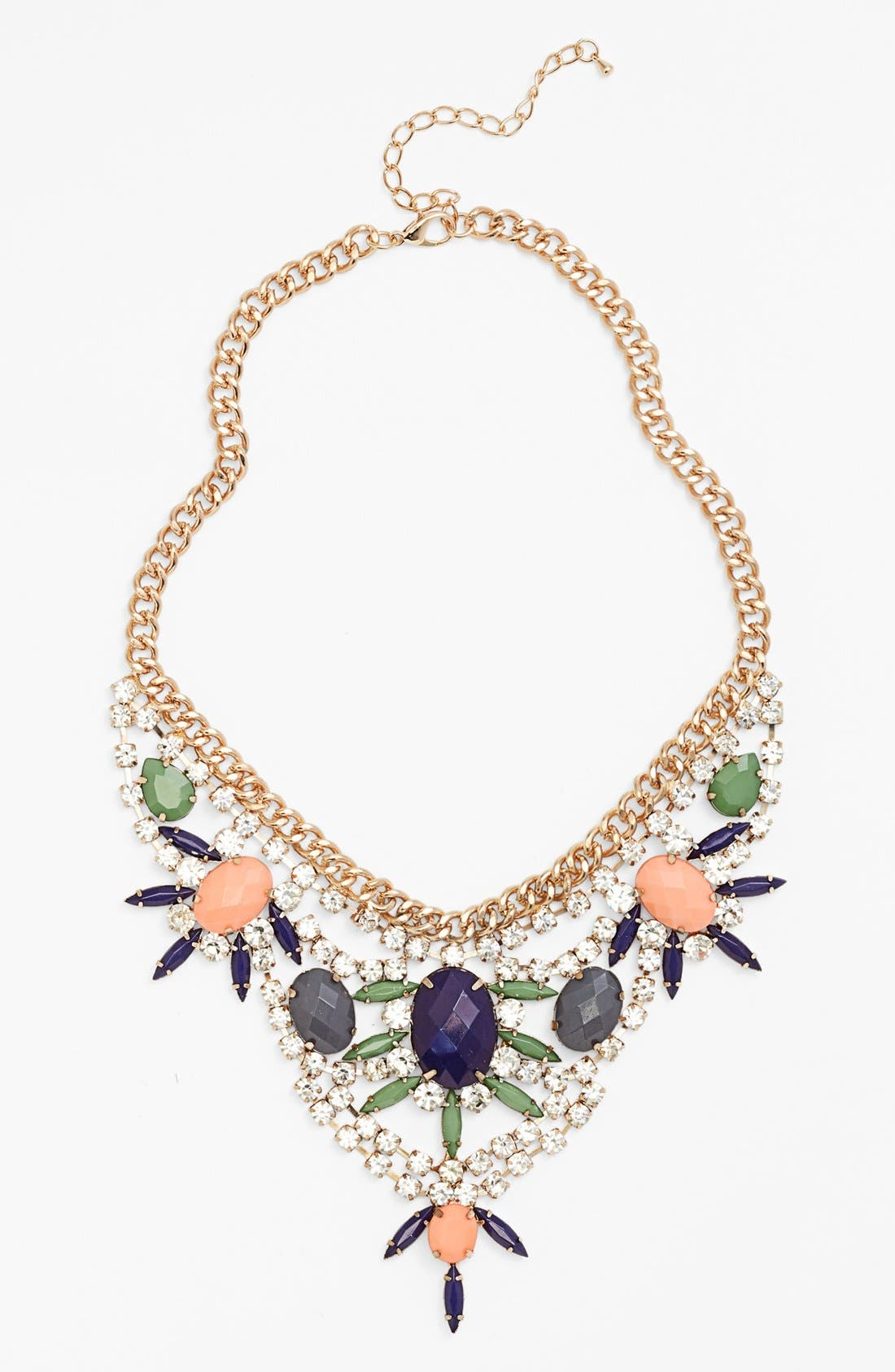 Alternate Image 1 Selected - Guinevere Crystal Statement Necklace