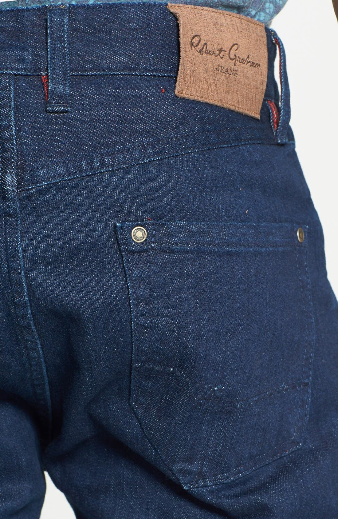 Alternate Image 3  - Robert Graham 'Mad Hatter' Classic Fit Straight Leg Jeans