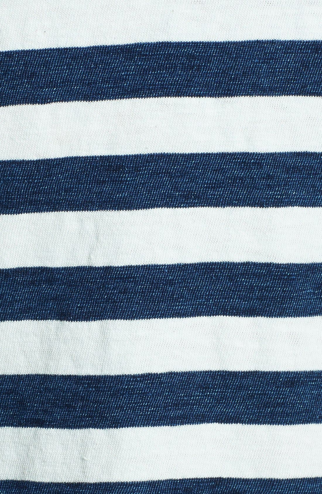 Alternate Image 3  - Splendid Stripe Scoop Neck Cotton Tee