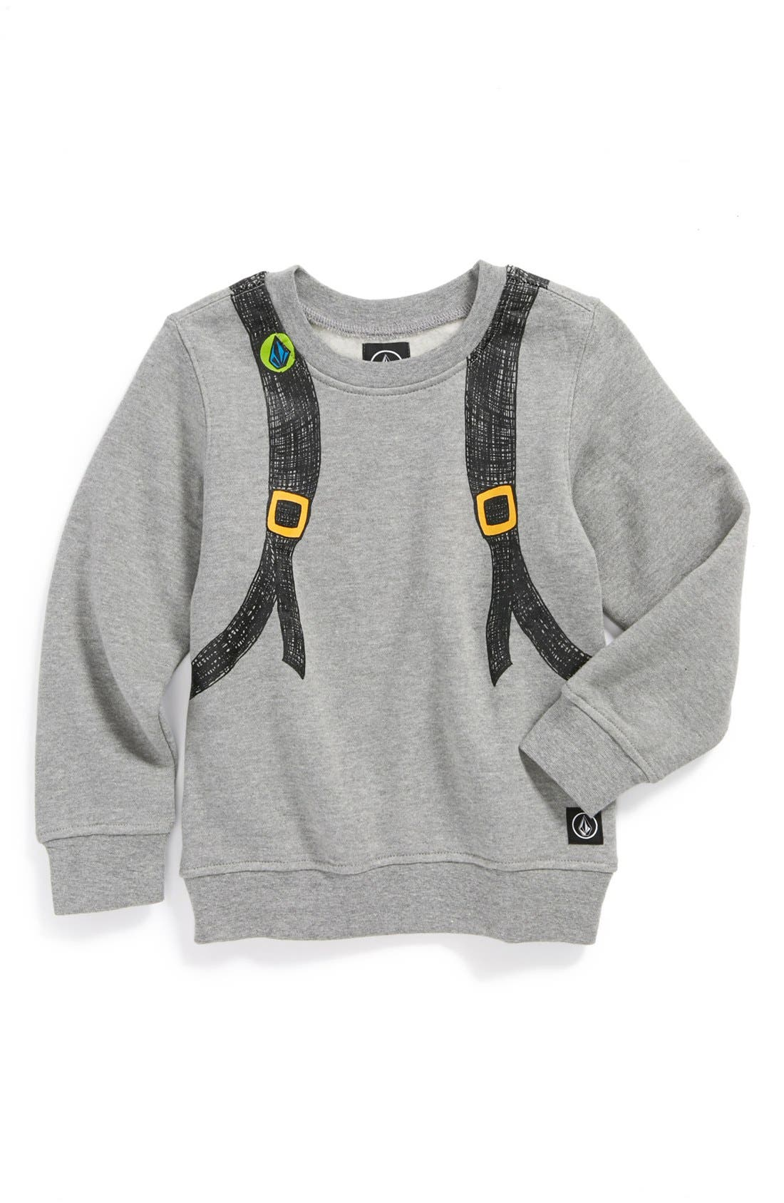 Alternate Image 1 Selected - Volcom 'Reconeryo' Sweatshirt (Little Boys)