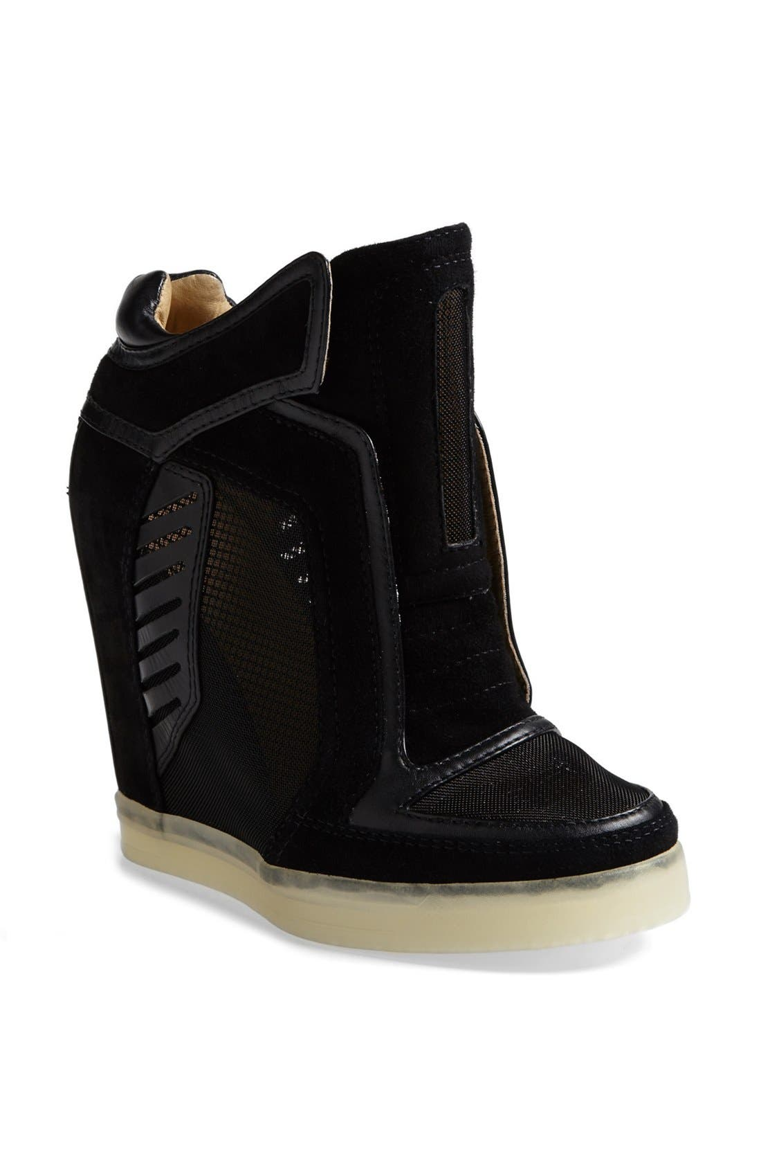 Main Image - L.A.M.B. 'Freeda' High Top Sneaker with Glow-in-the-Dark Sole