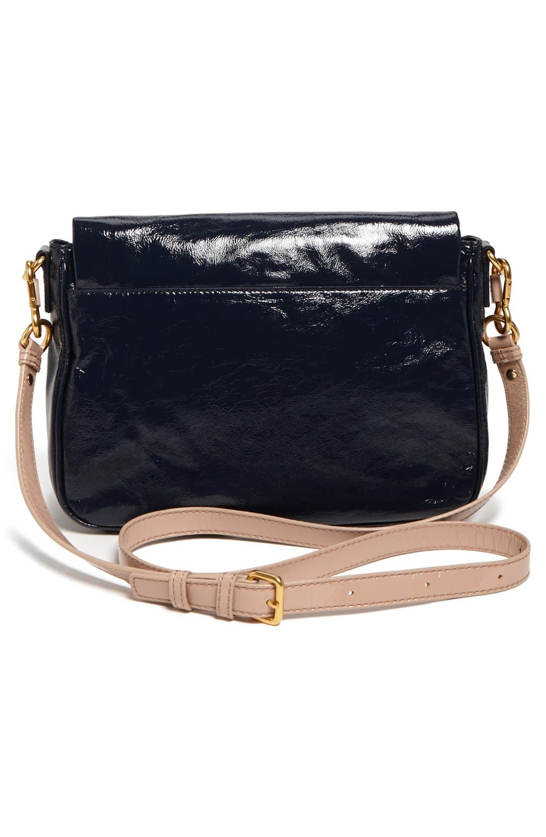 Alternate Image 4  - MARC BY MARC JACOBS 'Lea' Glazed Crossbody Flap Bag