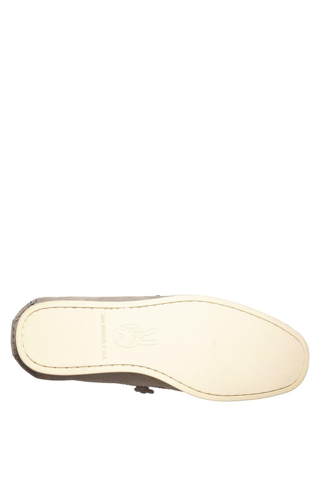 Alternate Image 4  - John Varvatos Star USA 'Schooner' Suede Boat Shoe