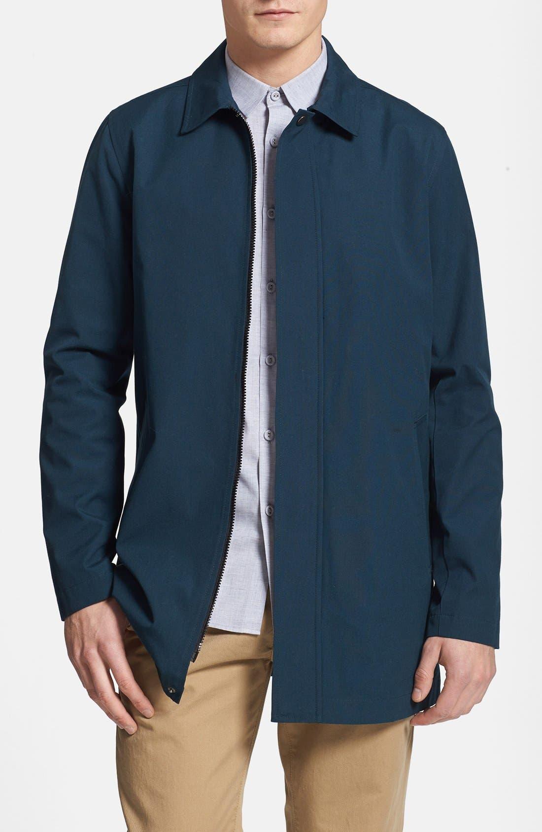 Main Image - Topman Cotton Trench Coat