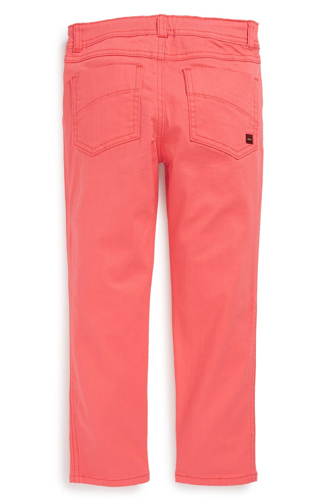 Main Image - Tea Collection Skinny Ankle Pants (Little Girls & Big Girls)