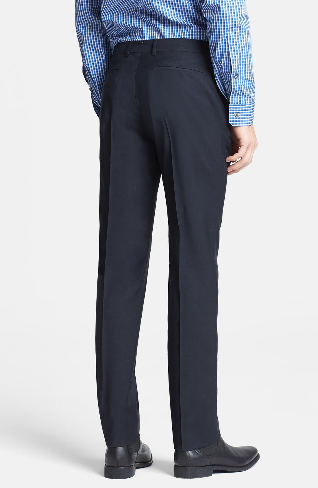 Alternate Image 2  - PS Paul Smith Slim Fit Wool Trousers