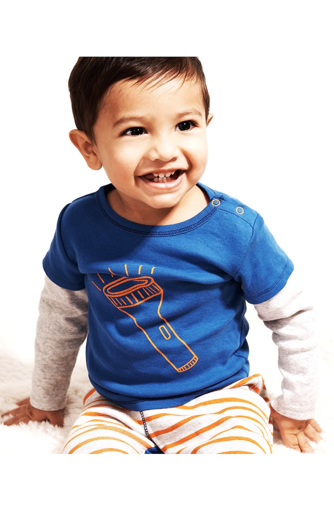 Alternate Image 3  - Stem Baby Graphic Cotton Top & Pants (Baby Boys)