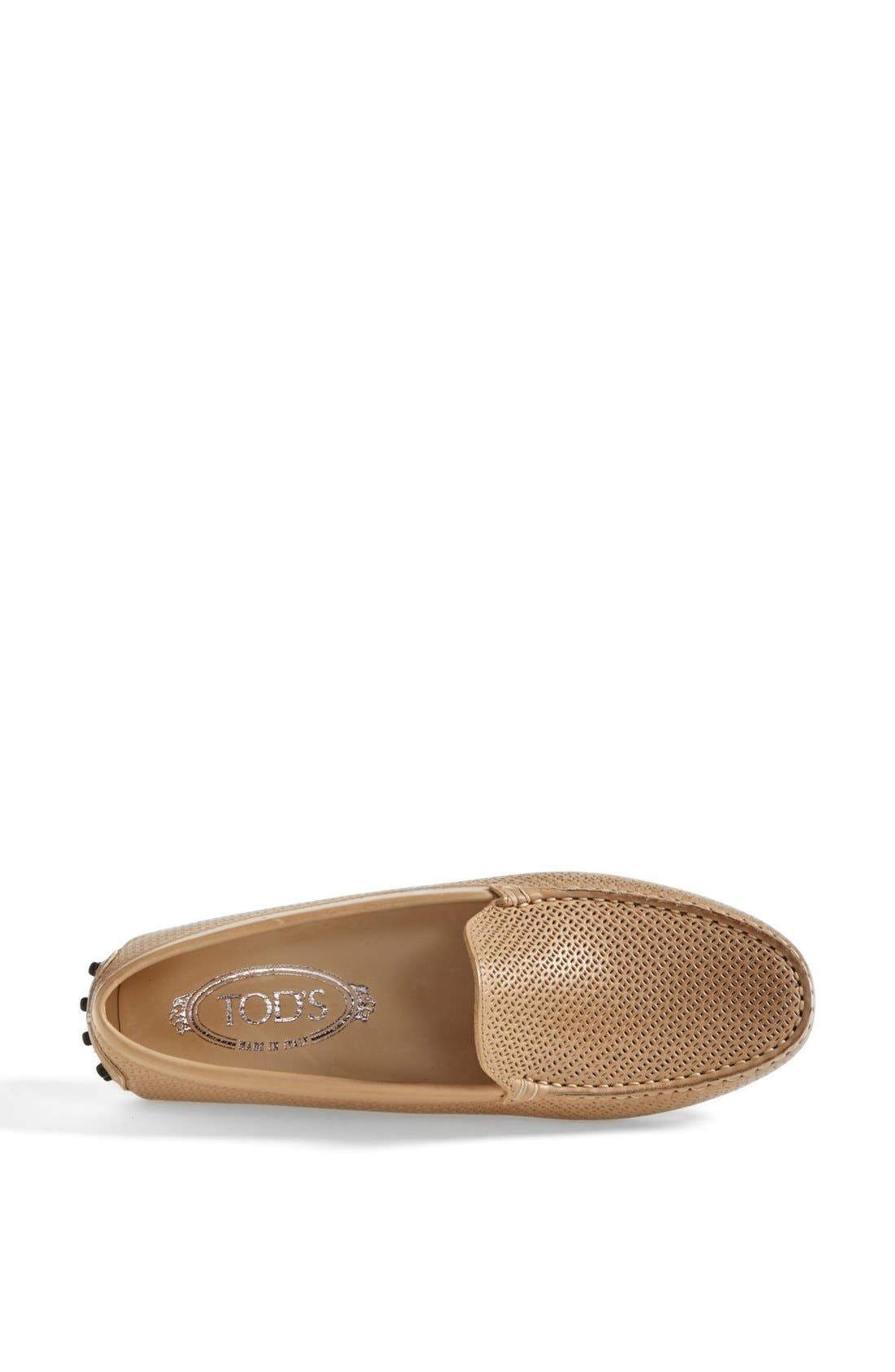 Alternate Image 3  - Tod's 'Gommini' Perforated Leather Driving Moccasin