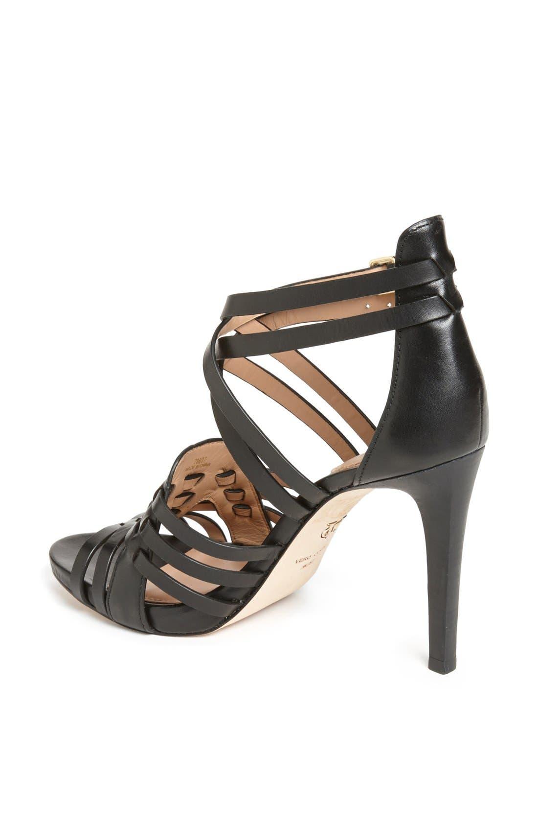 Alternate Image 2  - VC Signature 'Barbaraa' Woven Leather Sandal