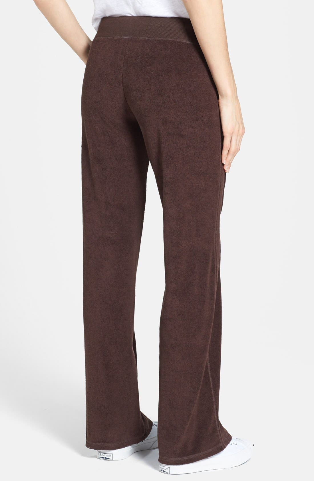 Alternate Image 2  - MICHAEL Michael Kors Drawstring Waist French Terry Pants
