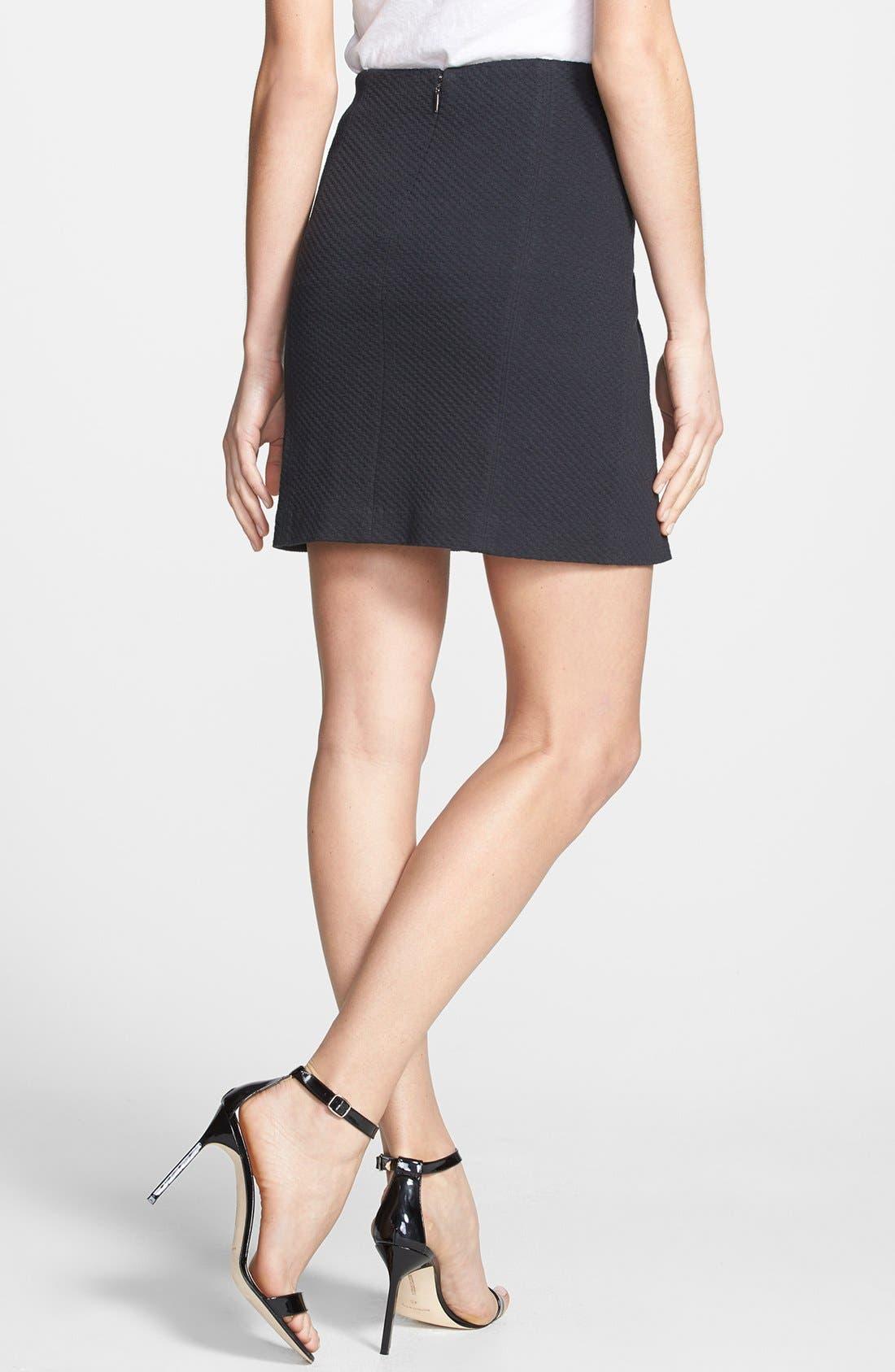 Alternate Image 2  - Rebecca Taylor Textured Skirt