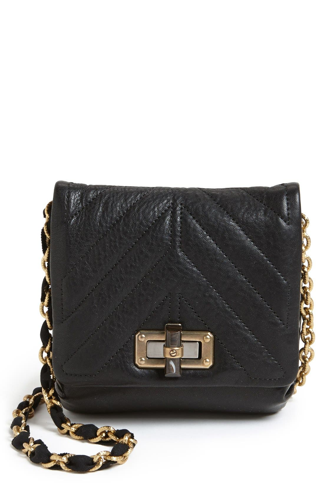 Alternate Image 1 Selected - Lanvin 'Happy - Mini' Leather Crossbody Bag