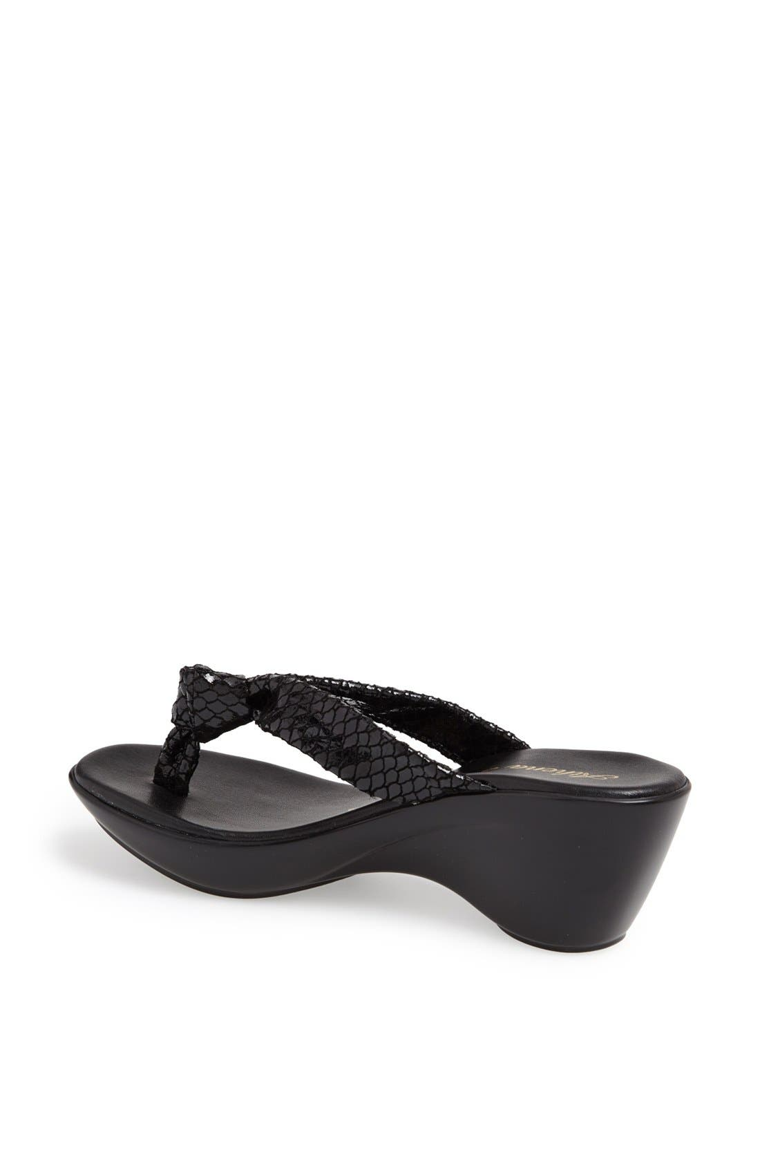 Alternate Image 2  - Athena Alexander 'Ever' Wedge Sandal