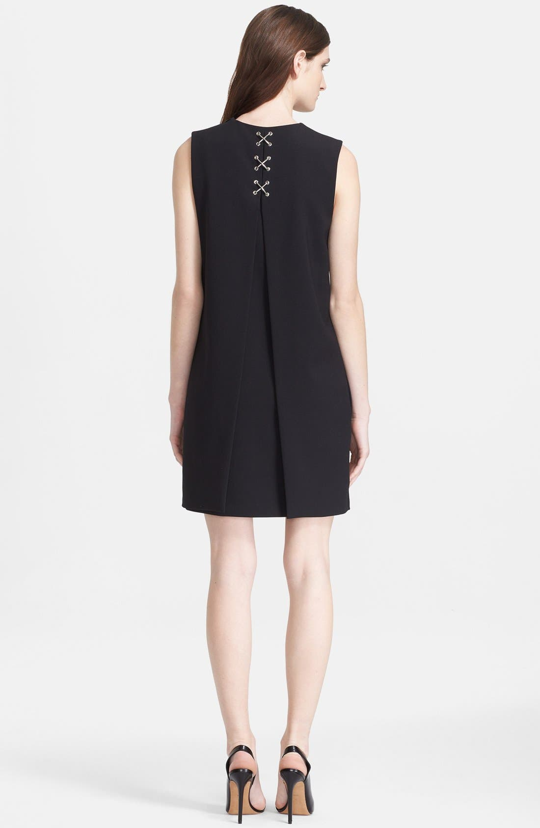 Alternate Image 1 Selected - Alexander Wang Lace-Up Back Folded Dress