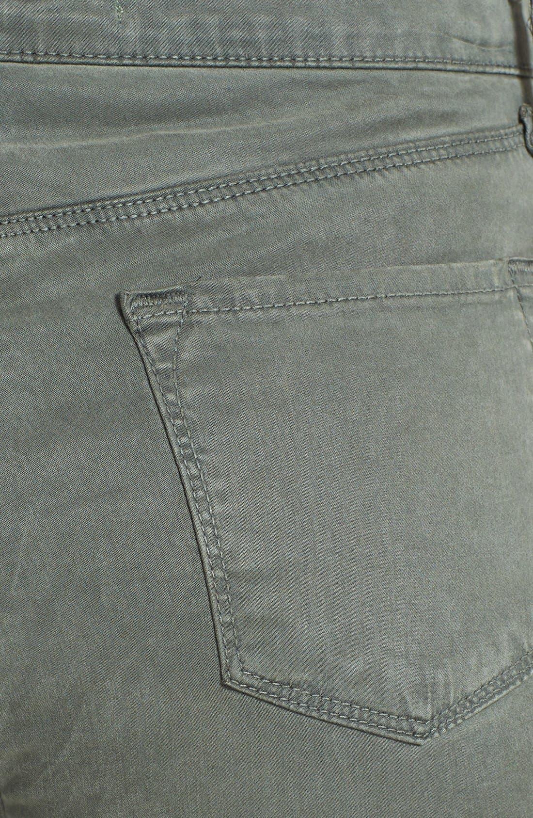 Alternate Image 3  - J Brand 'Maria 2311' High Rise Skinny Jeans (Sprucestone)