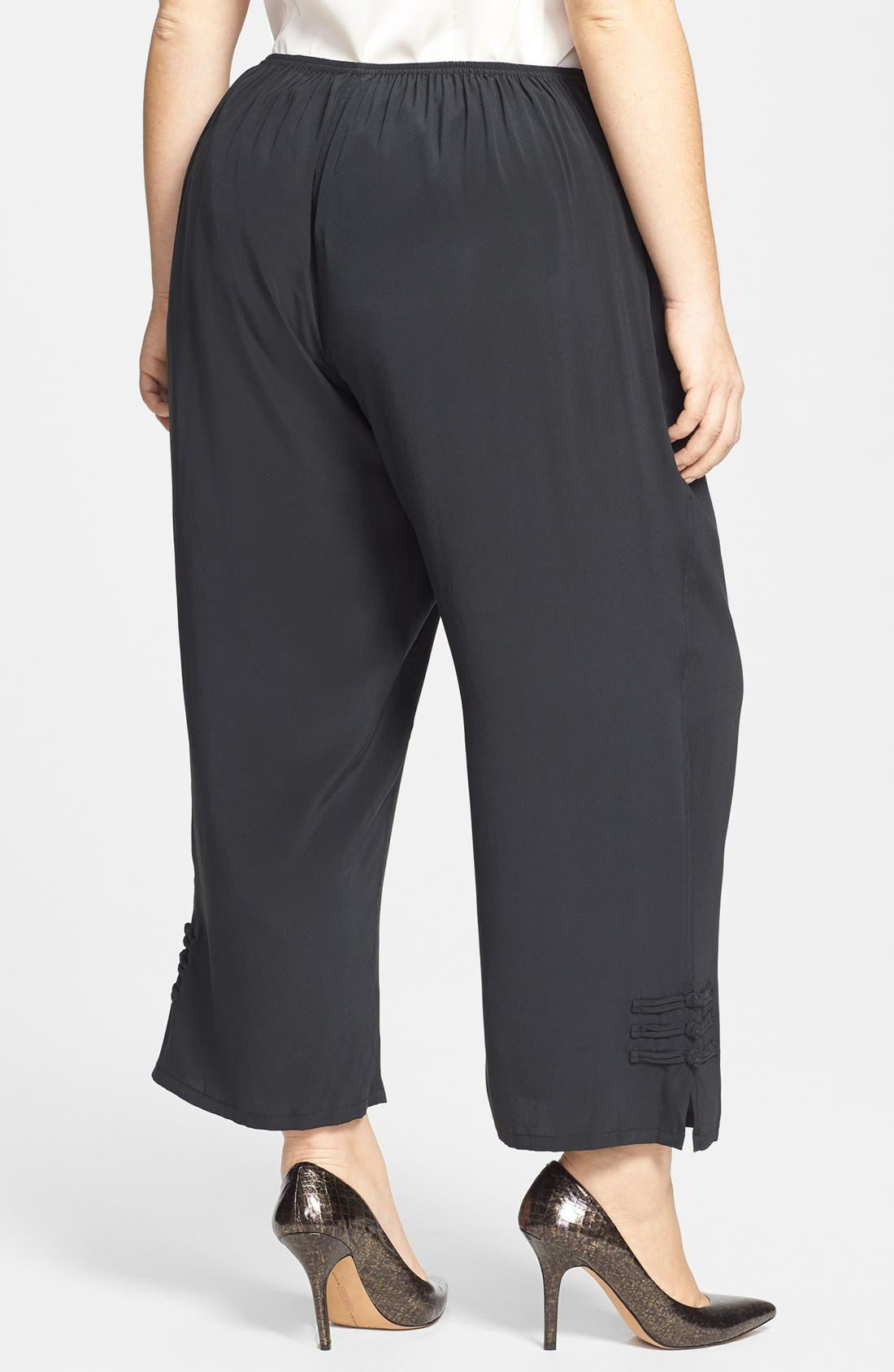 Alternate Image 2  - Citron Ankle Pants (Plus Size)